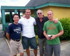 Éric Roy (son), Michel Lévesque (assistant de production), Yvan Ducharme, Antoine Desjardins (directeur photo)