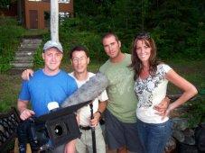 Antoine Desjardins (directeur photo), Éric Roy (son), Michel Lévesque (assistant de production), Nathalie Ducharme (réalisatrice, scénariste et productrice)