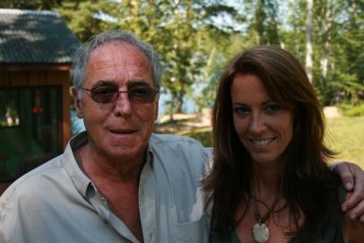 Yvan Ducharme et sa fille cadette Nathalie