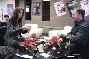 Nathalie Ducharme (scénariste, réalisatrice et productrice du documentaire LES VIES DE MON PÈRE) en entrevue avec Dominic Chamberland du journal Abitibi Express.