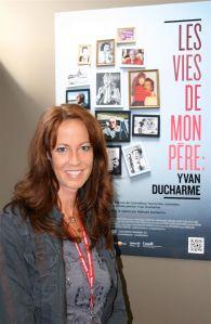 La première du documentaire LES VIES DE MON PÈRE: YVAN DUCHARME avait lieu au festival du cinéma international en Abitibi-Témiscamingue