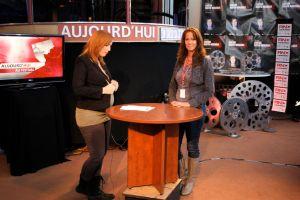Entrevue avec Catherine Marcil, chef d'antenne de Radio-Canada (Abitibi-Témiscamingue)