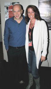 En compagnie du réalisateur belge Nic Balthazar qui présentait son merveilleux film  TOT ALTIJD - TIME OF MY LIFE